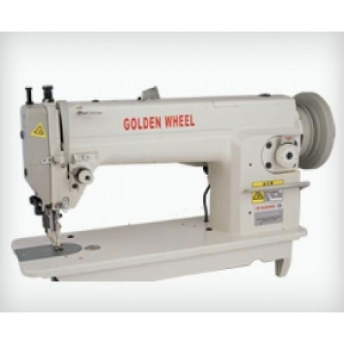 Прямострочная швейная машина с шагающей лапкой GOLDEN WHEEL CS-6102