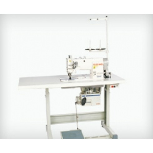 Прямострочная швейная машина с шагающей лапкой GOLDEN WHEEL CS-6102-BT-F