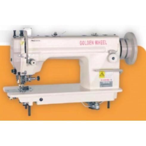 Прямострочная швейная машина с шагающей лапкой и боковым ножом GOLDEN WHEEL CS-6160