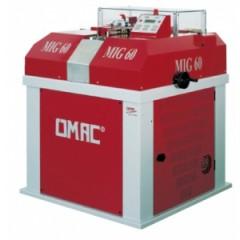 Машина для автоматической горизонтальной зачистки и полирования края и торца ремня и других аналогичных изделий Omac Мод. MIG 60