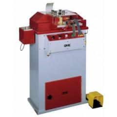 Машина для дублирования, обрезания краев и их закругления краев ремней и других изделий Omac мод. 820