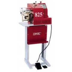 Машина для дублирования и вертикальной обрезки краев ремней и других изделий Omac мод. 825