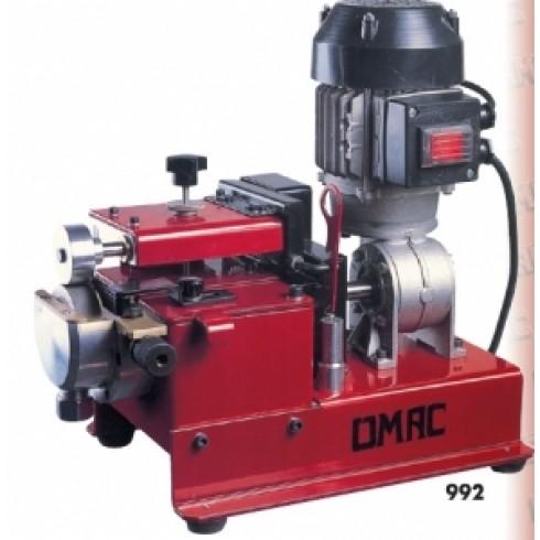 Машина для нанесения клея на край заготовок, подошв, ранты обуви, полоски из кожи и другие изделия Omac мод. 992