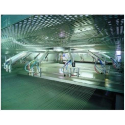 Автоматическая вращающаяся покрасочная камера с сушильным тоннелем (8 м+8м) ROT. 2.200/1.21