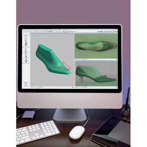 Программный комплекс Scan Line создания колодки с фотогрфии обуви