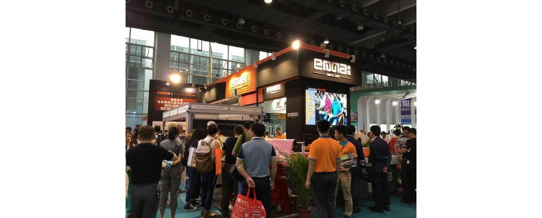 Специалисты нашей компании посетили выставку оборудования и материалов для производства обуви в Гуанчжоу, Китай.