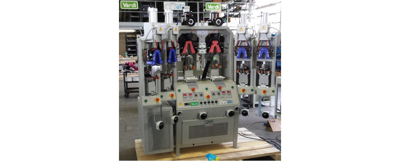 Новая машина формования пяточной части - Четыре горячих и Две холодных станции Matic
