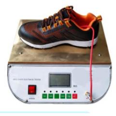 Машина для испытания спец.обуви на антистатику LG-6029A