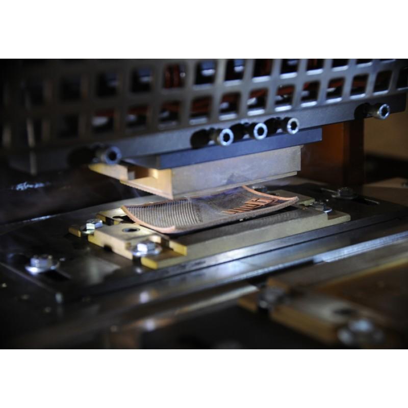 Гидравлический двухголовый пресс для вырубки и тиснения с поворотным столом GALLI FT1 LX