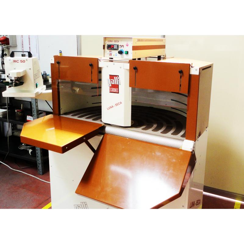 Компактная машина для окрашивания и высушивания изделий из кожи Galli LUNA SECA