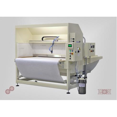 Автоматическая машина для нанесения клея методом распыления с конвейерной лентой GALLI TB 1601