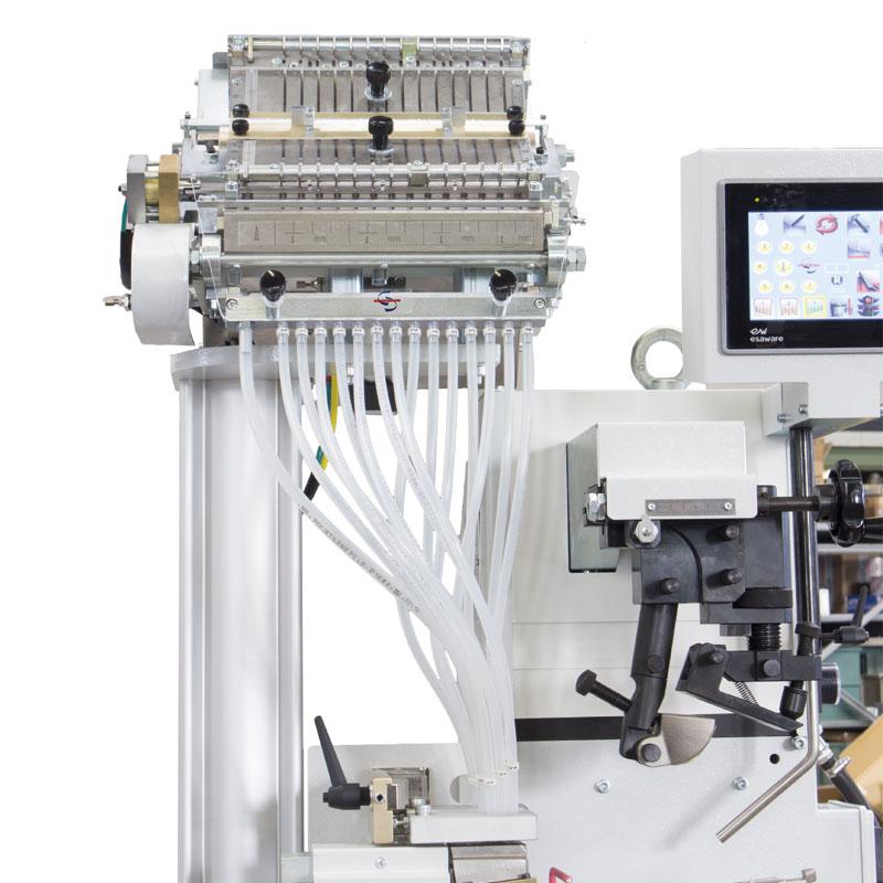 Автоматическая пневматическая каблучноприбивная машина Sabal S50L/14V/7