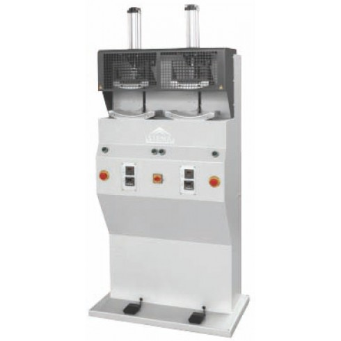 Машина вставки термопластичного подноска 2х позиционная Stema PP02